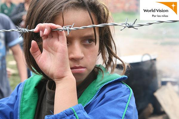 Entrega de niña raptada por Farc